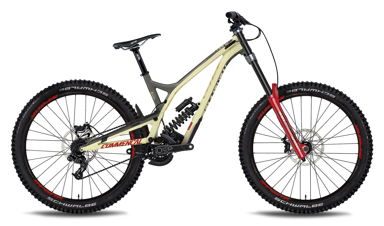 2019 Commencal Supreme DH V4.3 Team Bike