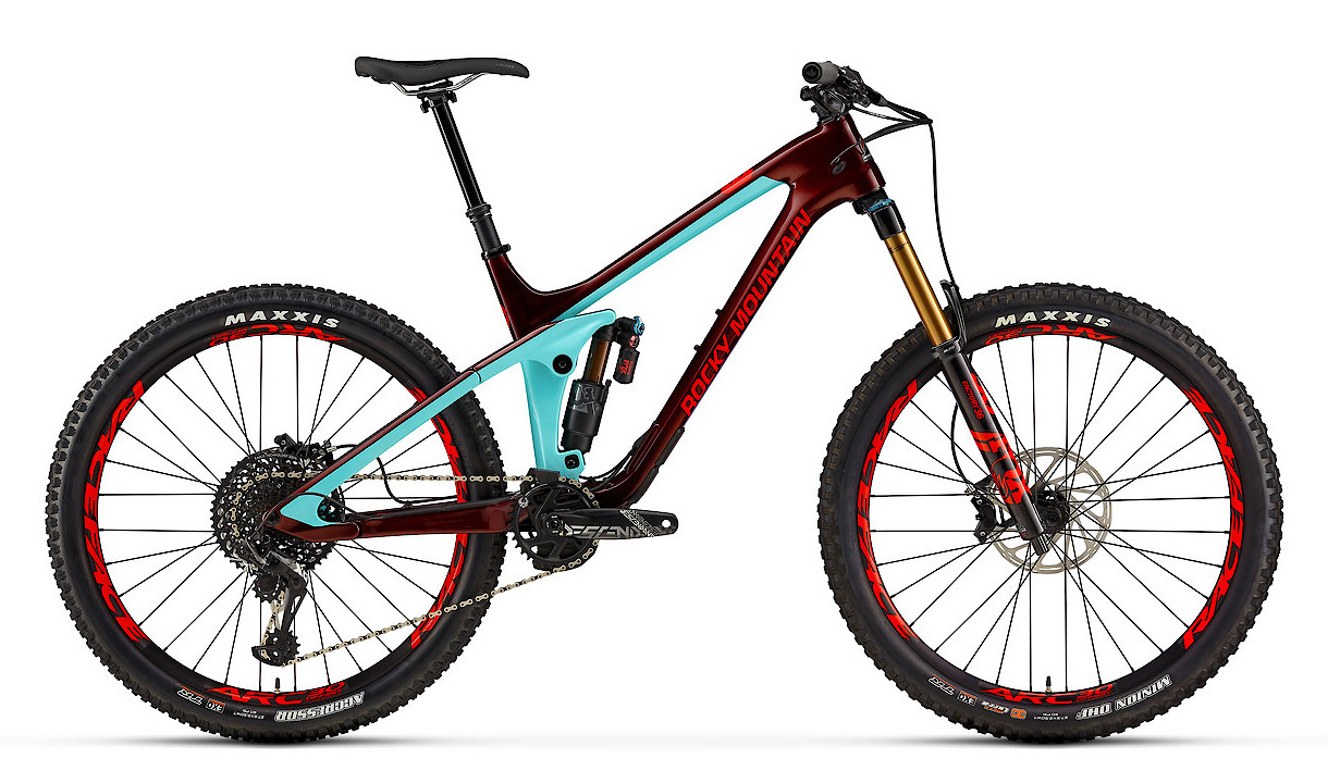 2019 Rocky Mountain Slayer Carbon 90 - Blue and Red