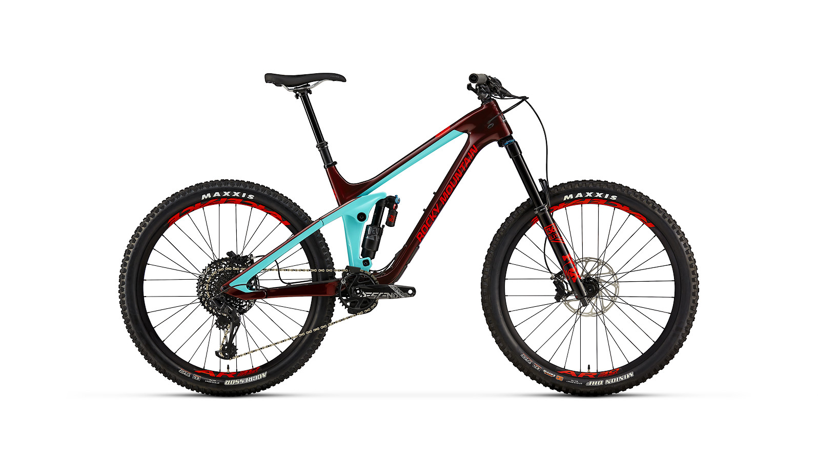 Rocky Mountain Slayer Carbon 70 - blue and red