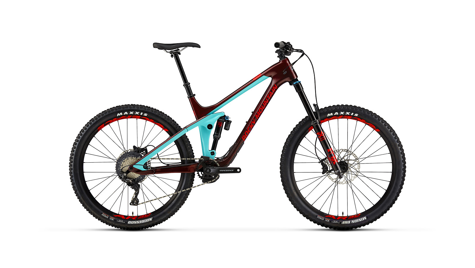 Rocky Mountain Slayer Carbon 50 - blue and red