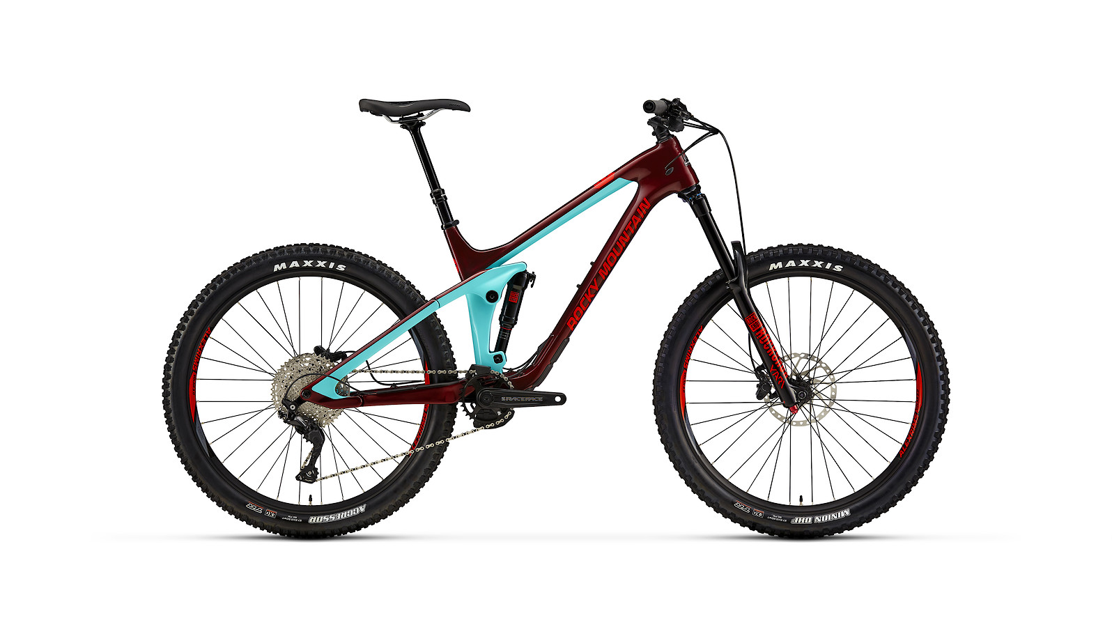 Rocky Mountain Slayer Carbon 30 - blue and red