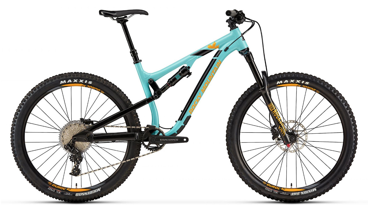2019 Rocky Mountain Altitude Alloy 30 - Light blue and yellow