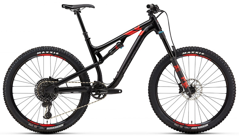 2019 Rocky Mountain Altitude Alloy 50 - Black and red