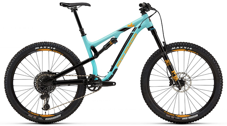 2019 Rocky Mountain Altitude Alloy 50 - Light blue and yellow