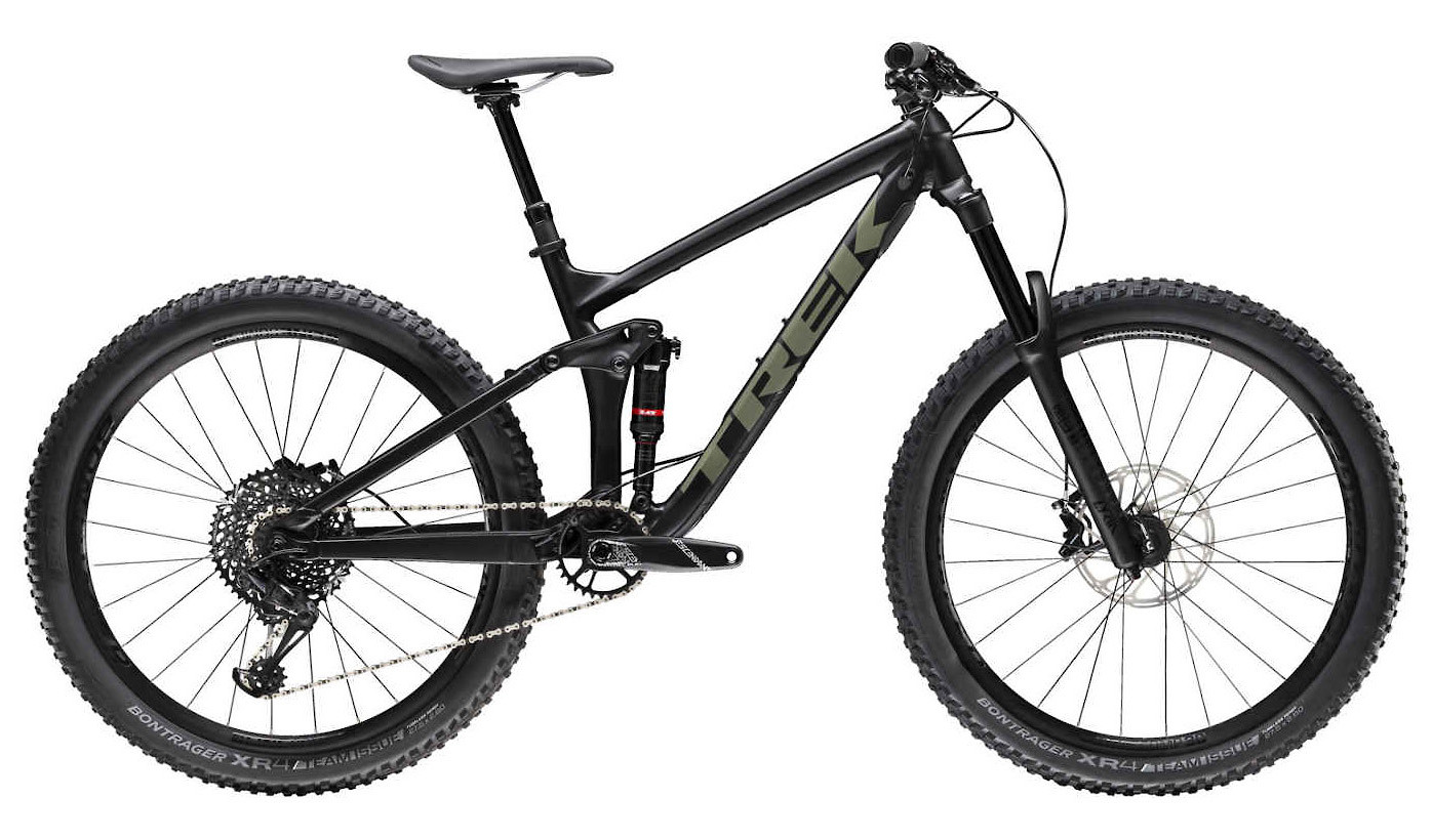 2019 Trek Remedy 8 Matte Trek Black