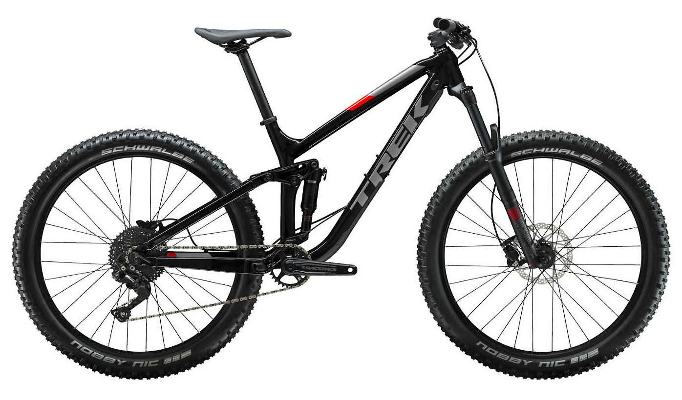 2019 Trek Fuel EX 5 Plus Bike Trek Black