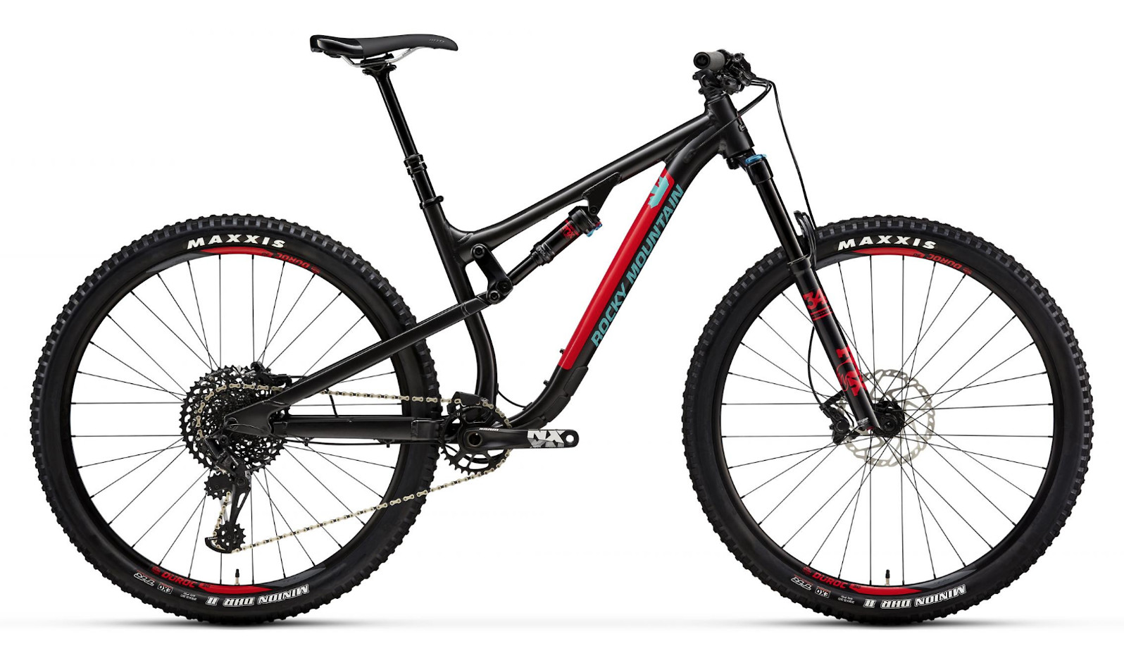 2019 Rocky Mountain Instinct Alloy 50 - Black and red