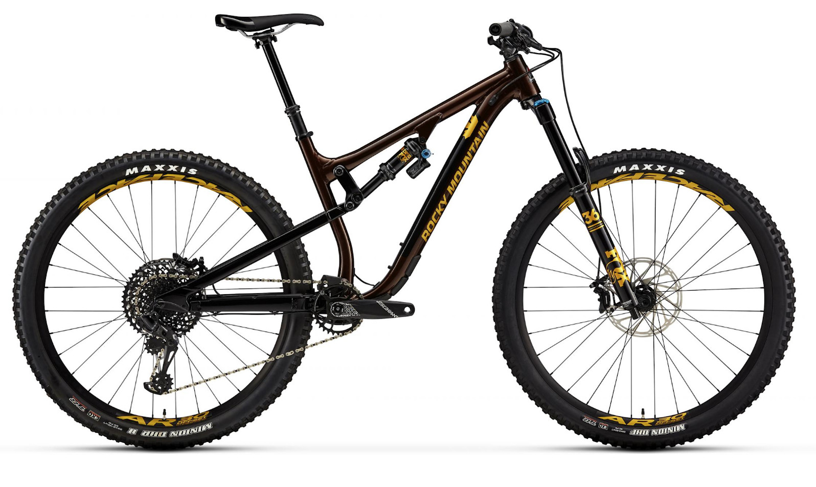 2019 Rocky Mountain Instinct Alloy 50 BC Edition - Brown and gold