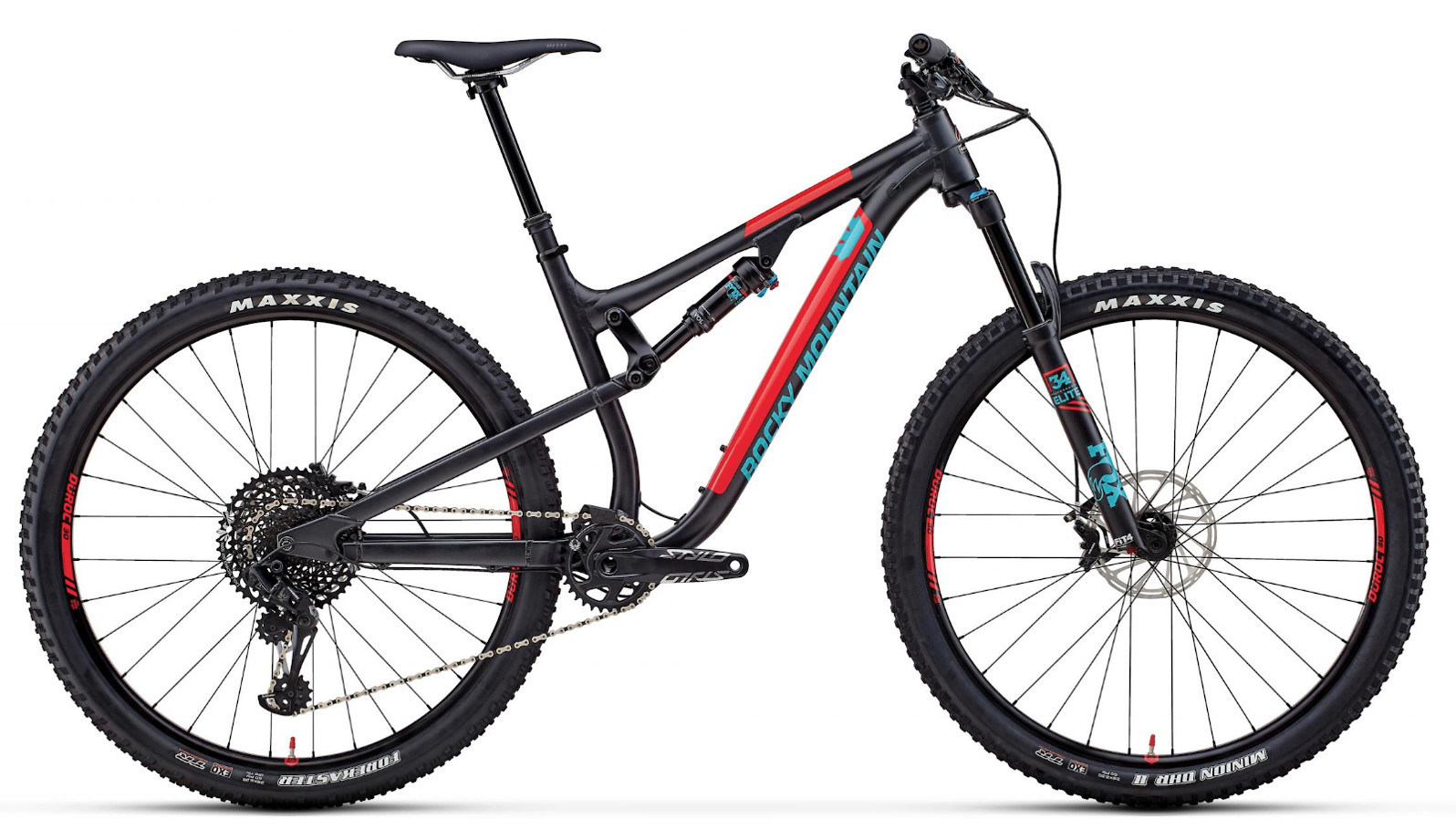 2019 Rocky Mountain Instinct Alloy 70 - Black and red