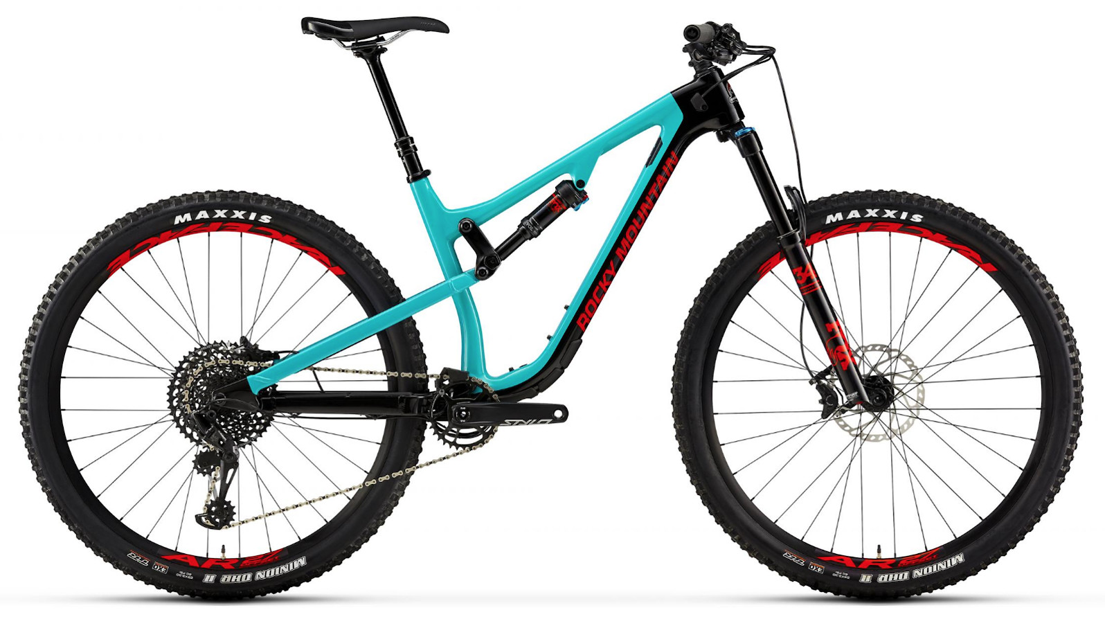 2019 Rocky Mountain Instinct Carbon 50 - Blue and red