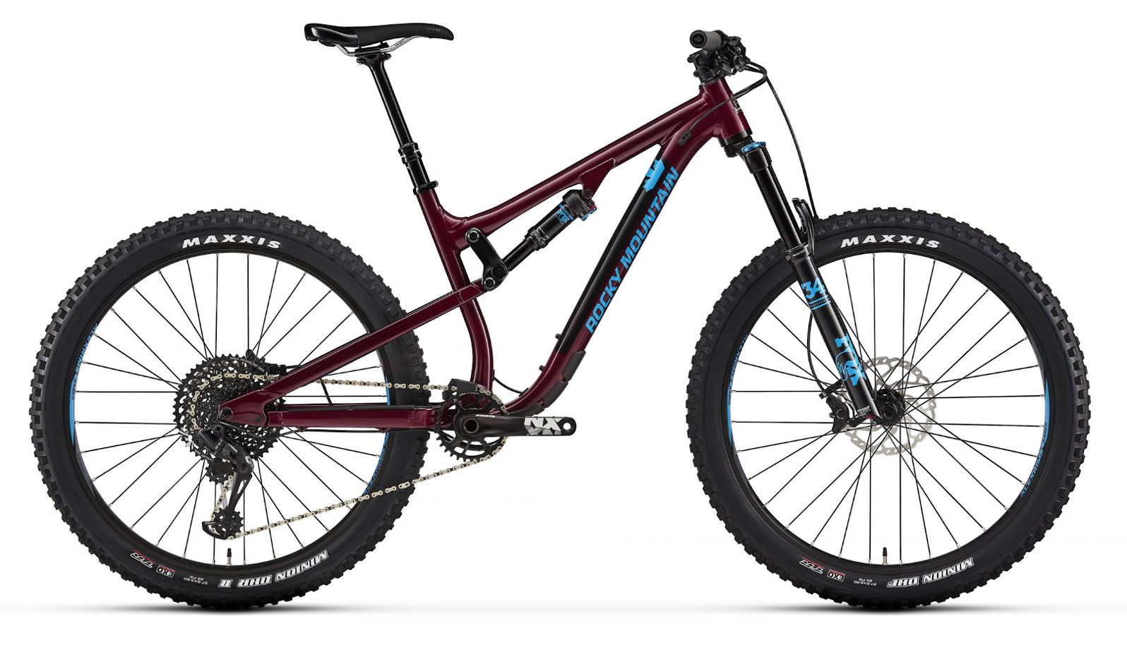 2019 Rocky Mountain Pipeline Alloy 50 - Berry and blue
