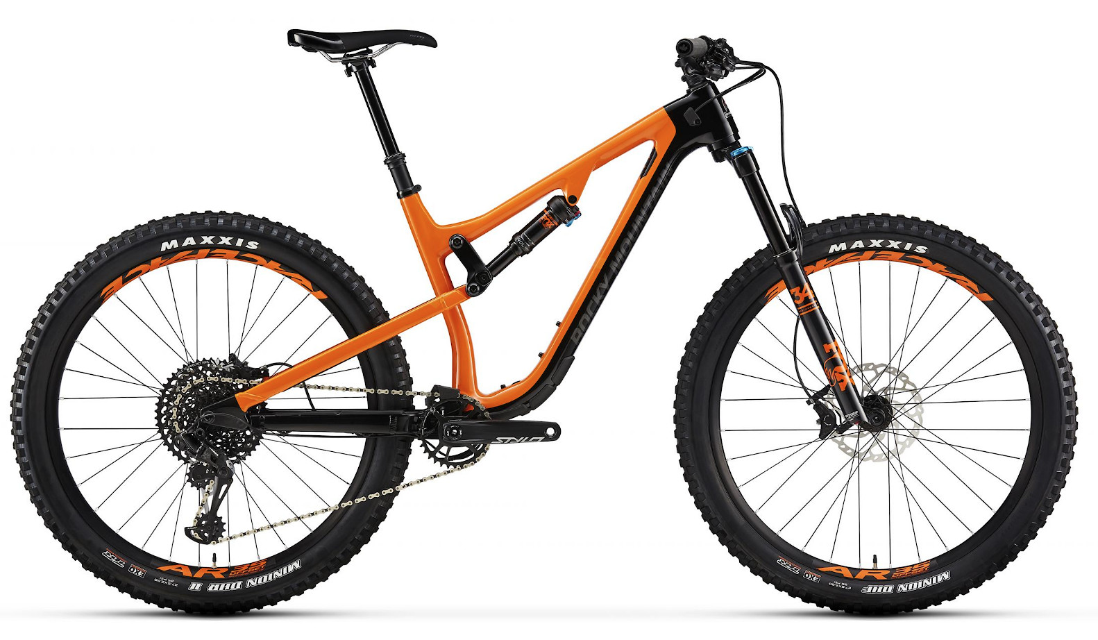 2019 Rocky Mountain Pipeline Carbon 50 - Black and orange