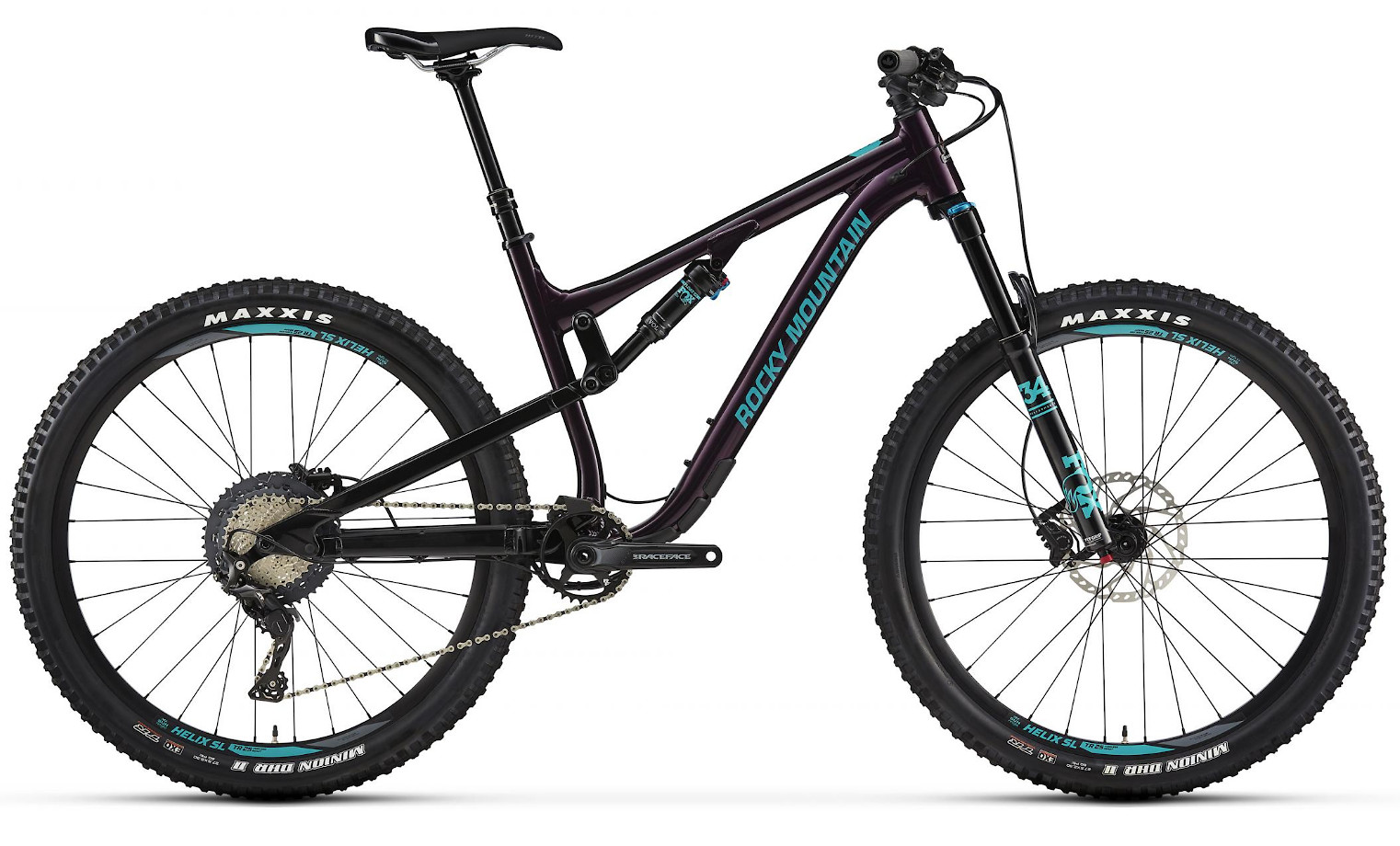 2019 Rocky Mountain Thunderbolt Alloy 50 - Dark purple