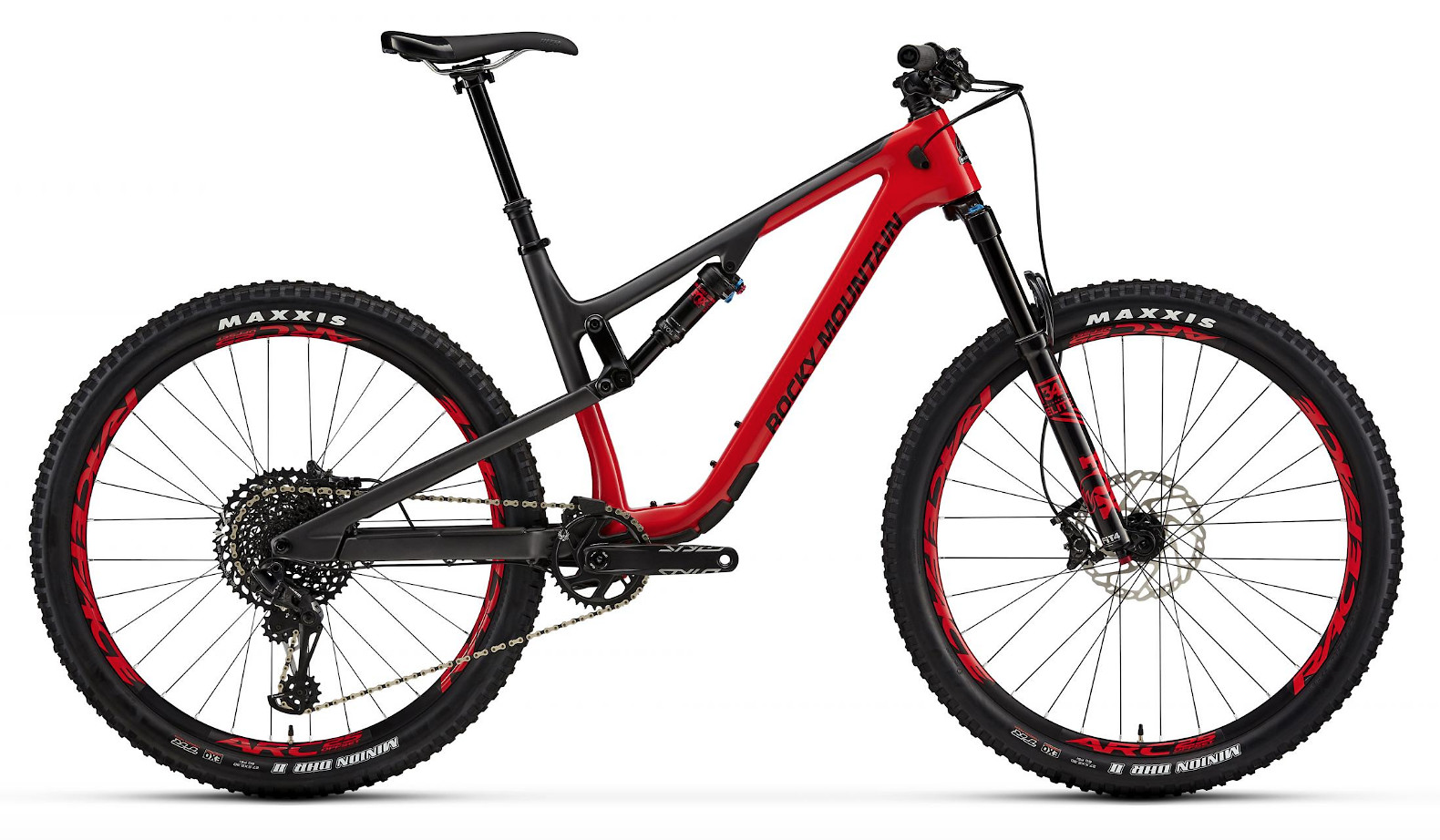 2019 Rocky Mountain Thunderbolt Carbon 70 - Red and gray