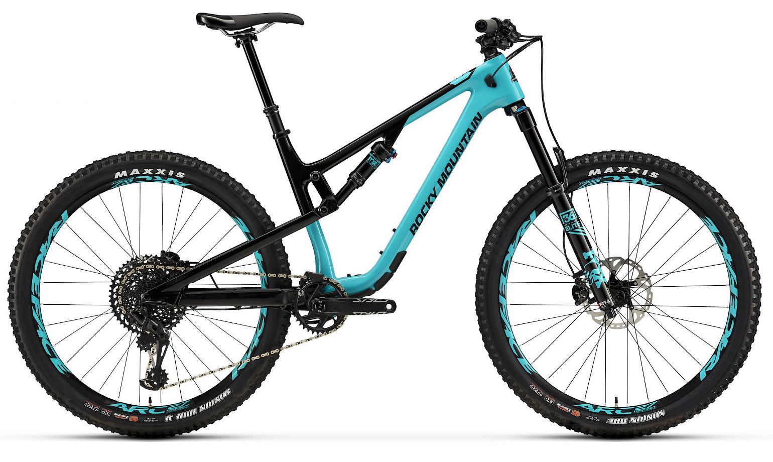 2019 Rocky Mountain Thunderbolt Carbon 90 BC Edition - Turquoise