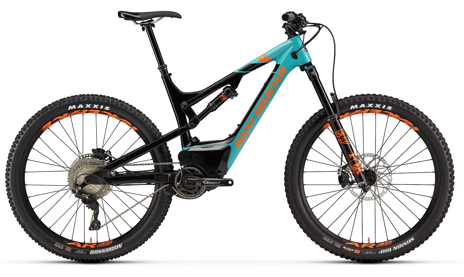 2019 Rocky Mountain Altitude Powerplay Carbon 70 - Turquoise and orange