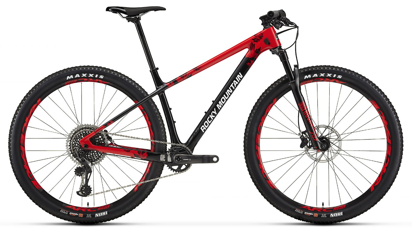 2019 Rocky Mountain Vertex Carbon 90 - Red and black