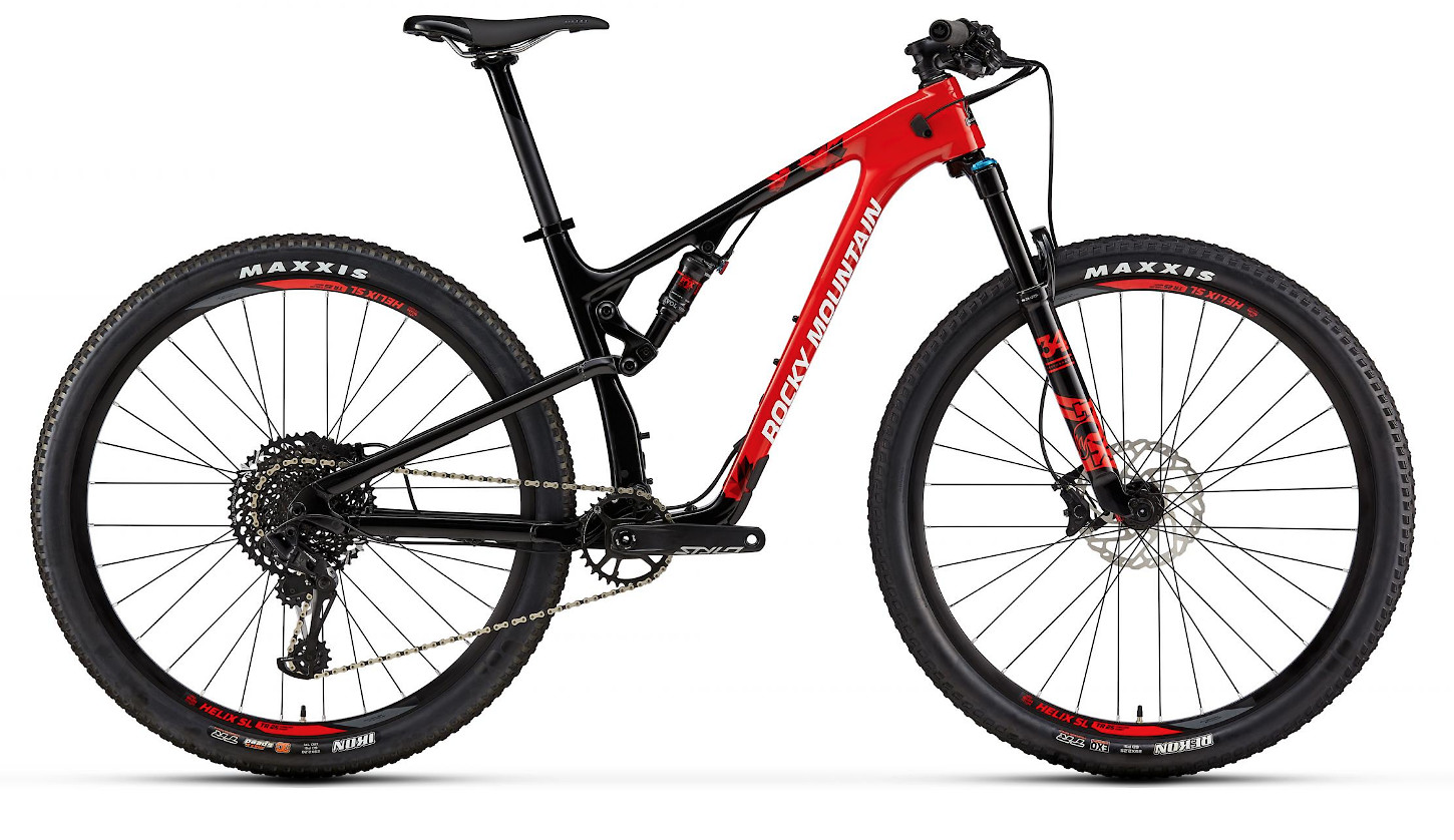 2019 Rocky Mountain Element Carbon 50 - Red and black