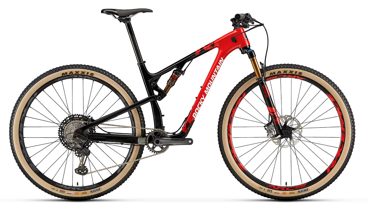 2019 Rocky Mountain Element Carbon 90 XCO Edition - Red and black
