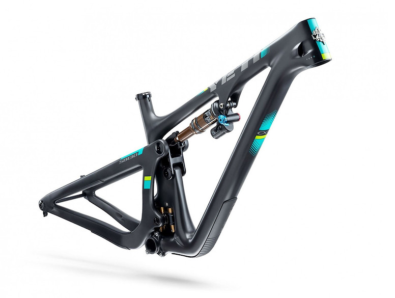 2019 Yeti SB130 TURQ Frame - Black