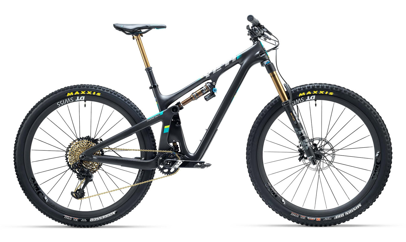 2019 Yeti SB130 Black - Shown with XX1 kit