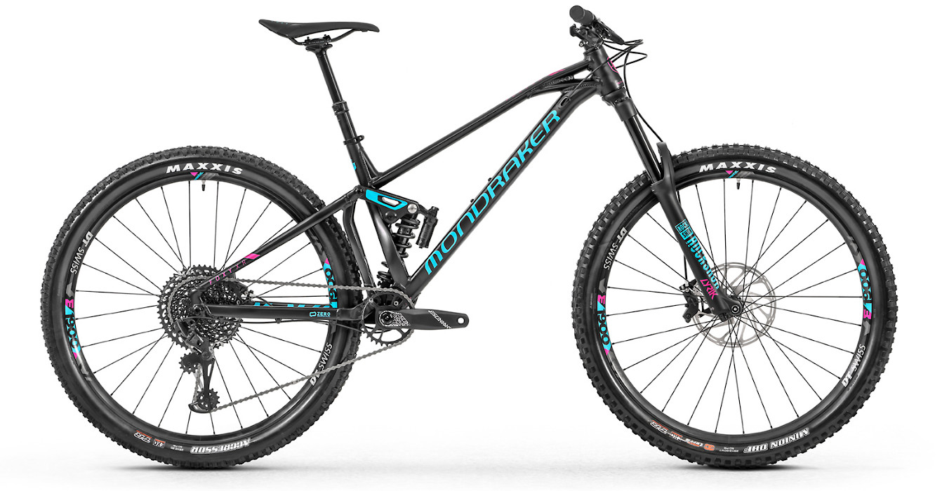 2019 Mondraker Foxy XR 29 - Black with turquoise
