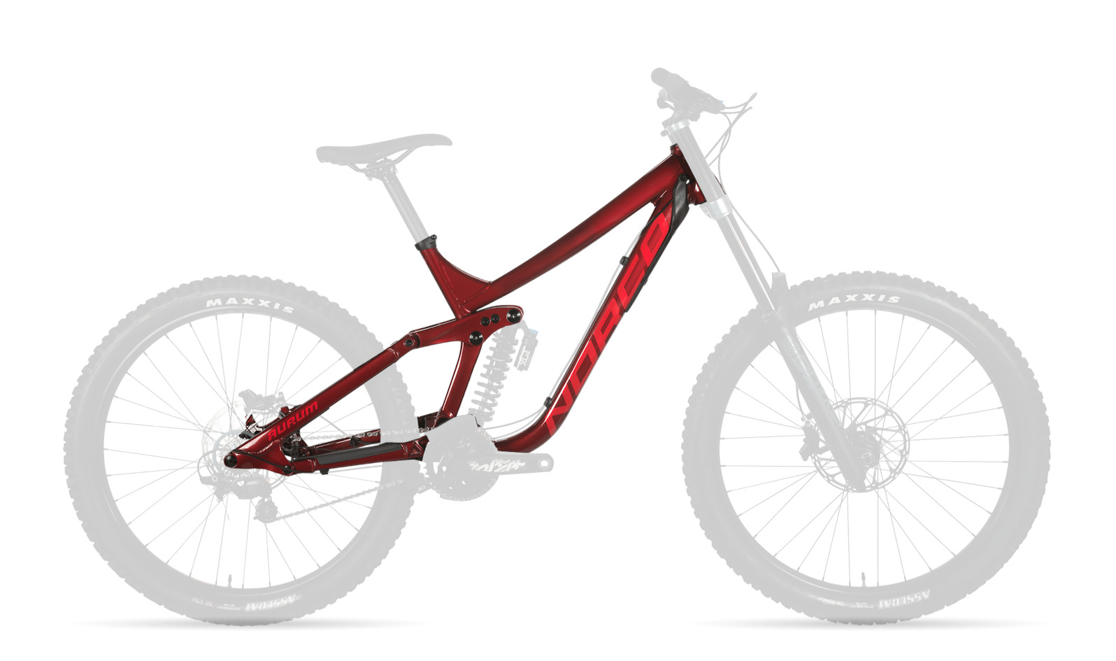 Norco Aurum A1 Frame - Red (2020-2021)