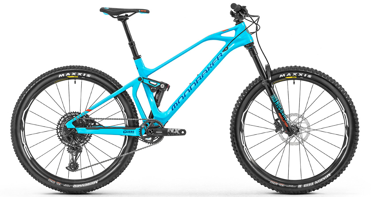 2019 Mondraker Foxy Carbon R 27.5 - Light blue