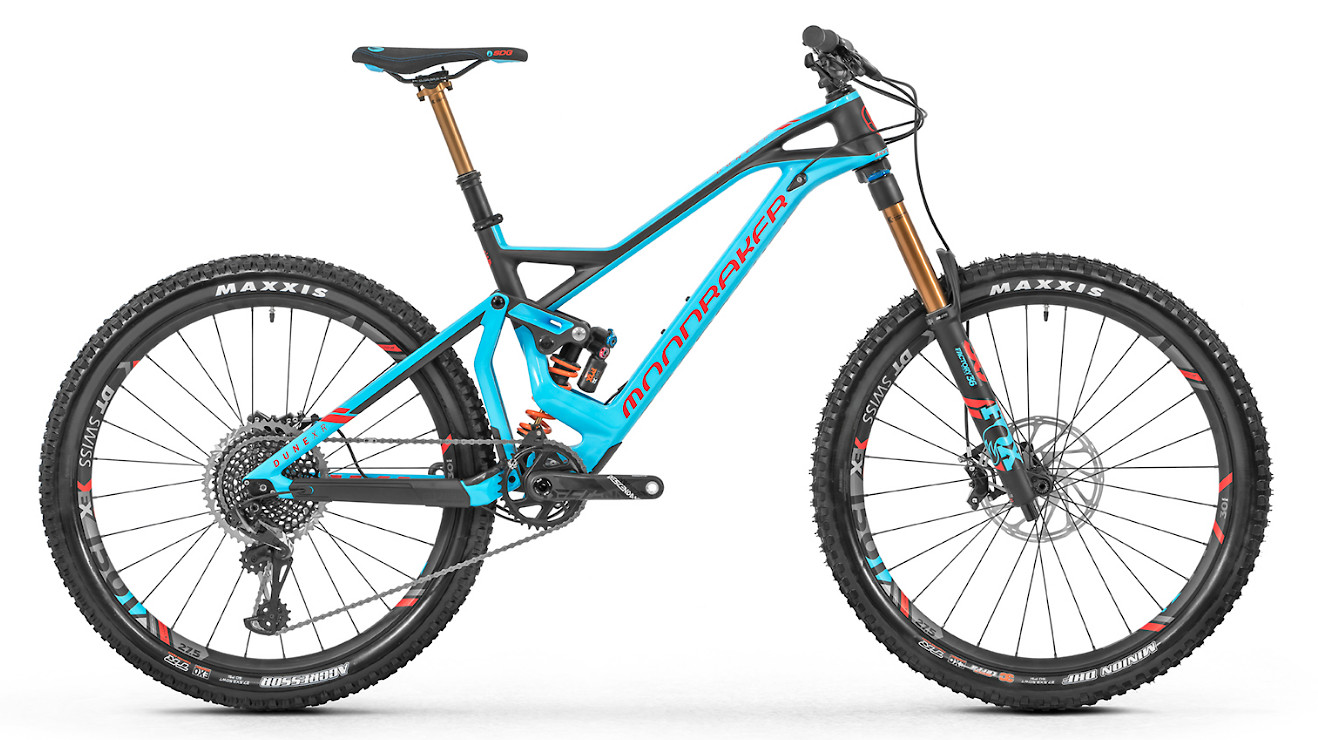 2019 Mondraker Dune Carbon XR - Blue and red