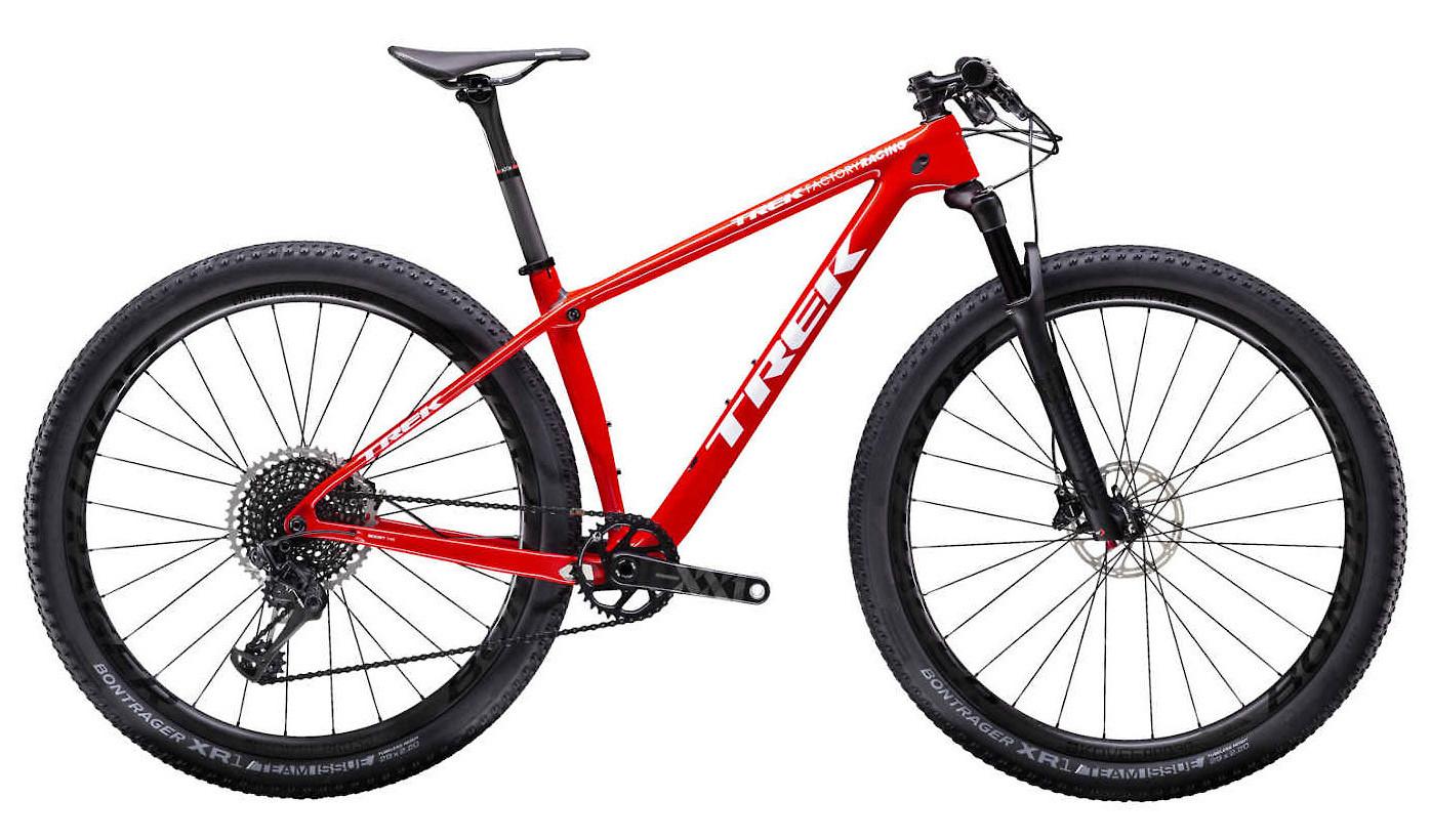 2019 Trek Procaliber SL 9.9 Bike - Viper Red/Trek White