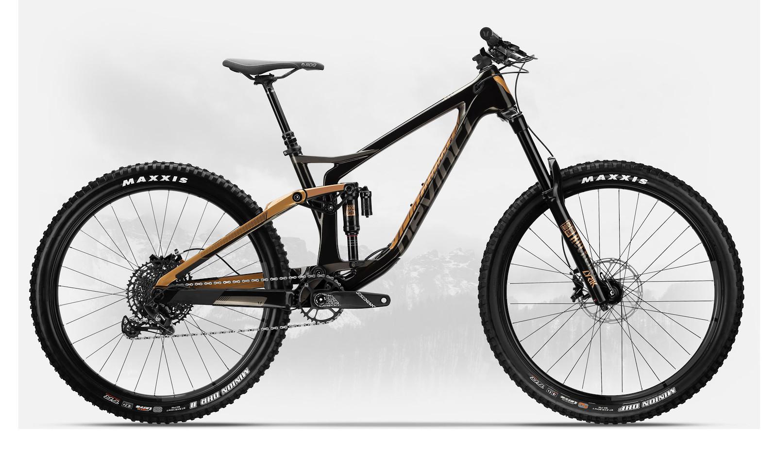 2019 Devinci Spartan Carbon 27 NX Eagle Gloss Black/Bronze