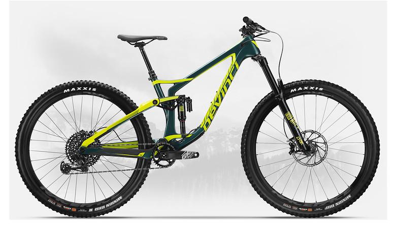 2019 Devinci Spartan Carbon 29 GX Eagle LTD Gloss Green