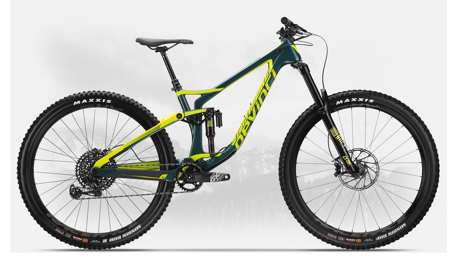 2019 Devinci Spartan Carbon 29 GX Eagle Gloss Green