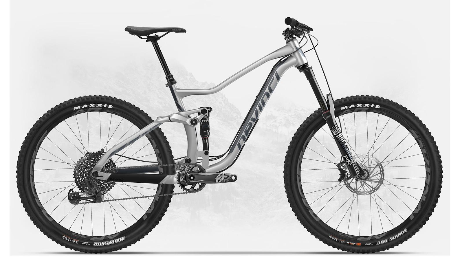 2019 Devinci Troy 27 GX Eagle Matte Silver/Black