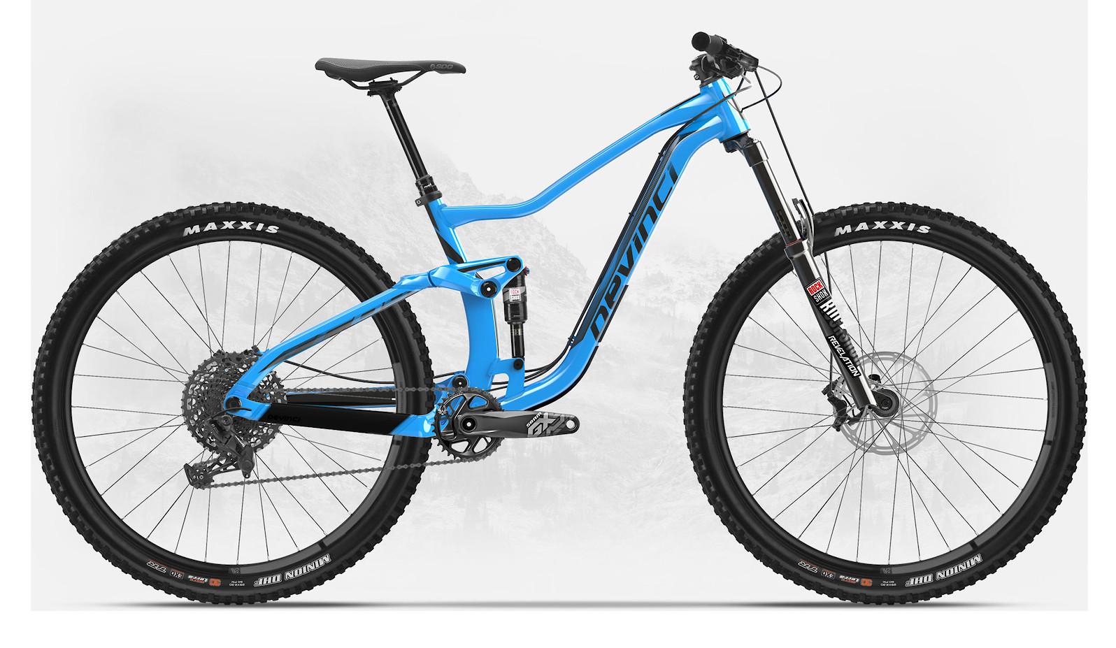 2019 Devinci Troy 29 NX Eagle Gloss Blue/Black