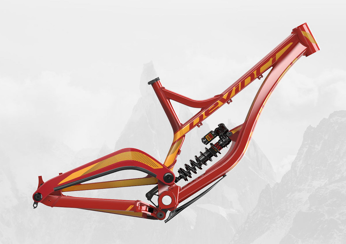 Devinci Wilson 29 Gloss Red/Orange