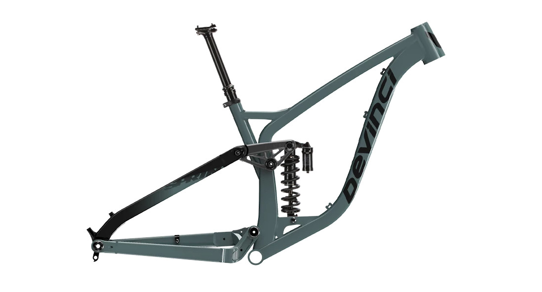 Devinci Spartan Frame - Gloss Charcoal (2021)