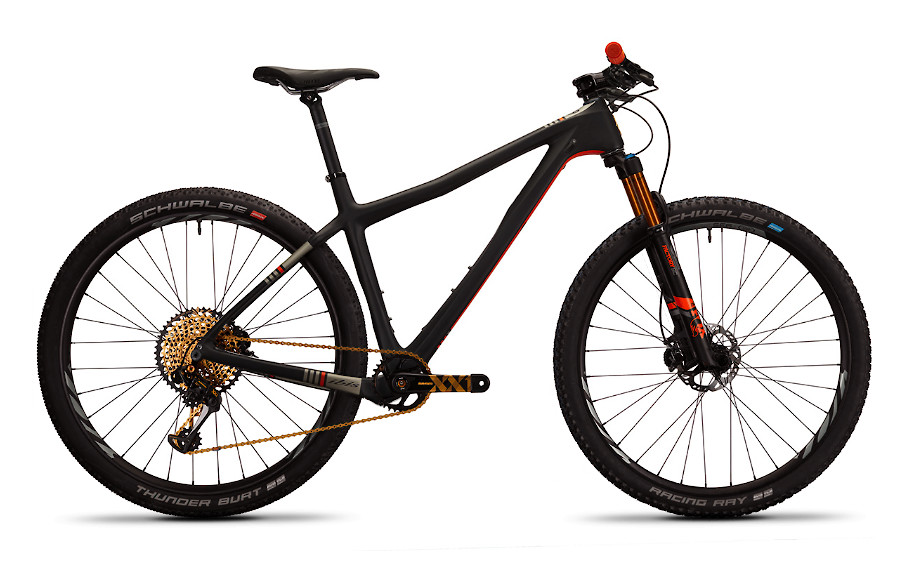 2019 Ibis DV9 black (shown with XX1 build)