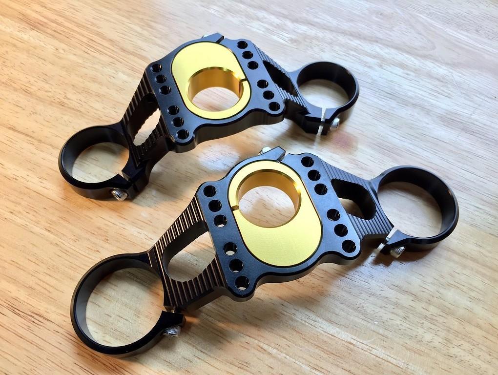 Boxxer Offset Crown Kit - gold inserts