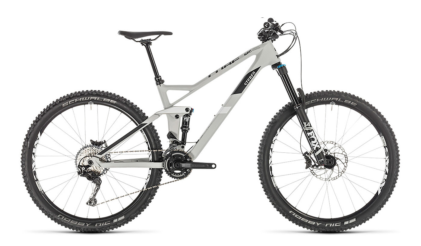 2019 Cube Stereo 140 HPC Race 27.5 Bike