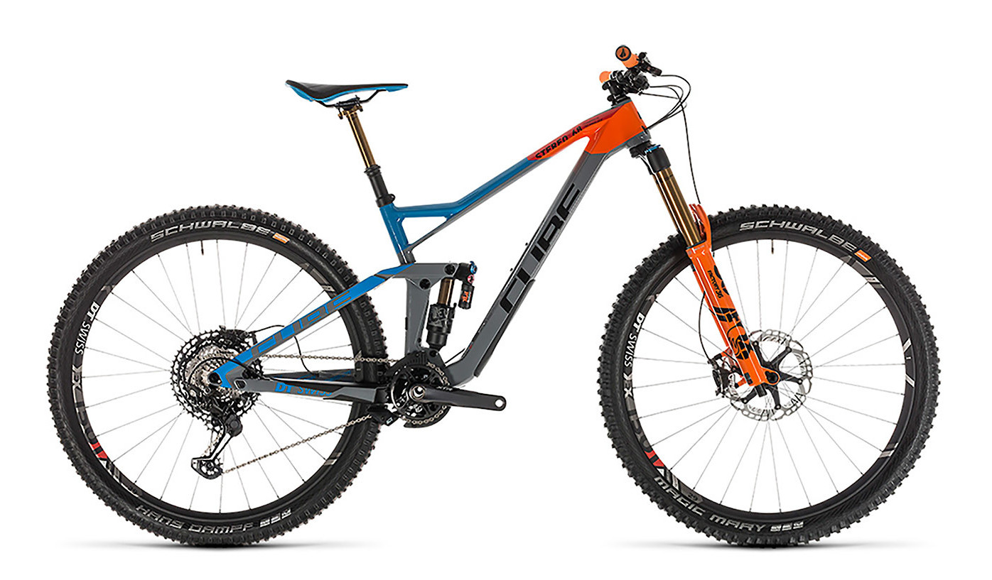 2019 Cube Stereo 150 C:68 Action Team 29 Bike