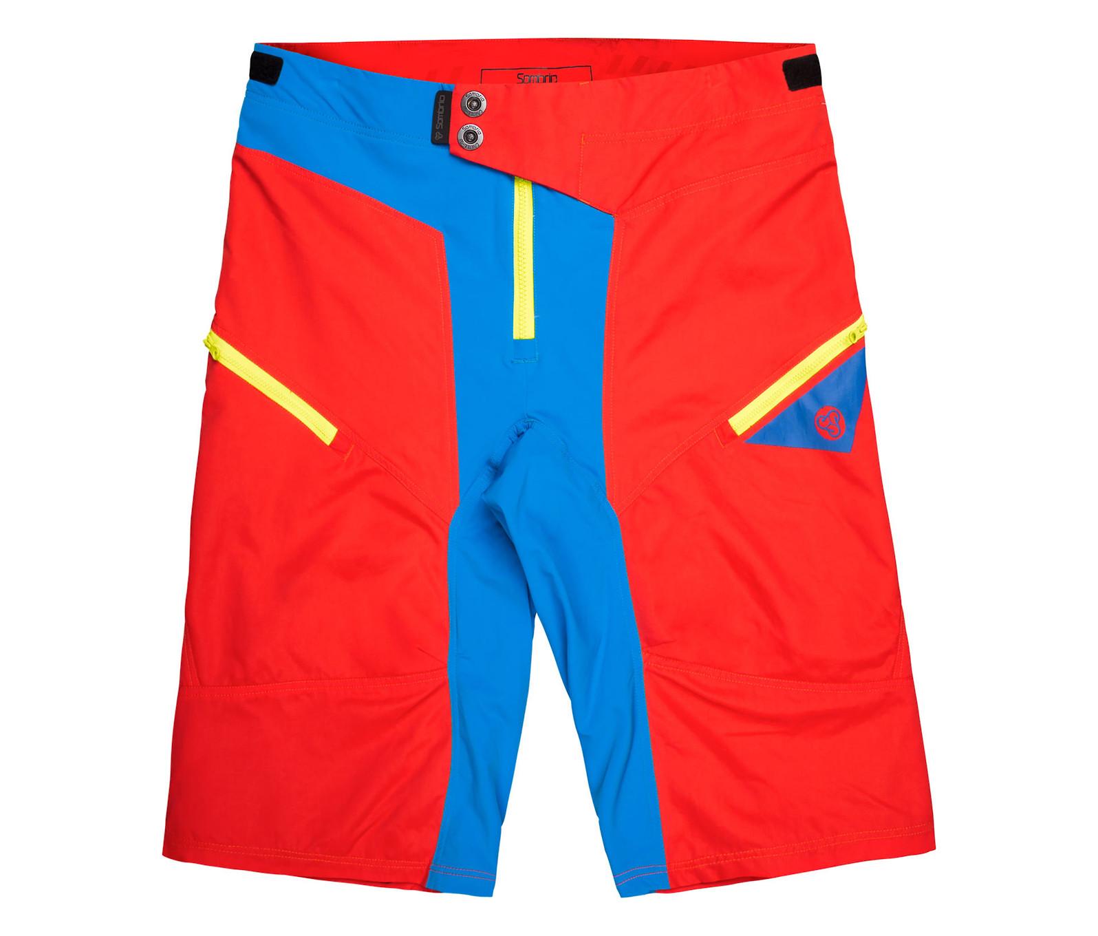 Sombrio Rev Shorts 2016 (Red)
