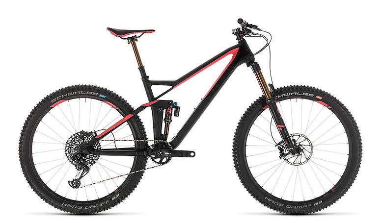 2019 Cube Sting 140 WS HPC SL Bike