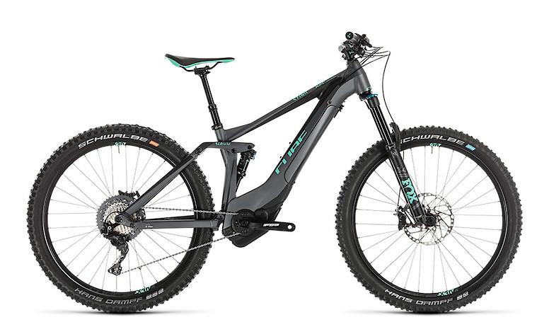 2019 Cube Sting Hybrid 140 SL 500 E-Bike