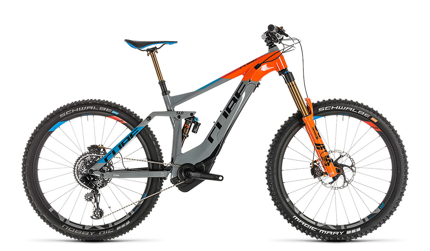2019 Cube Stereo Hybrid 160 Action Team 500 E-Bike