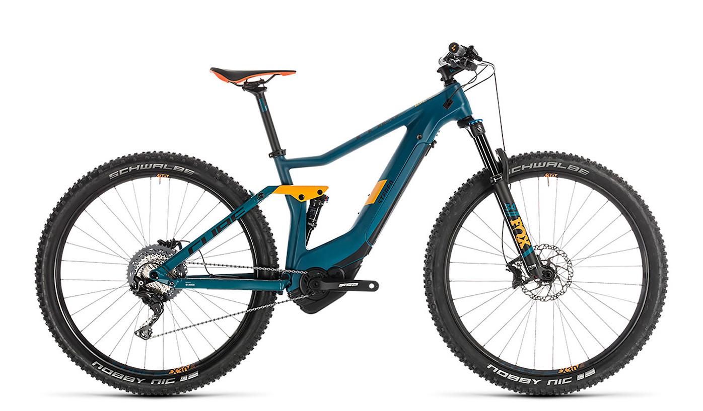 2019 Cube Stereo Hybrid 120 HPC SL 500 E-Bike