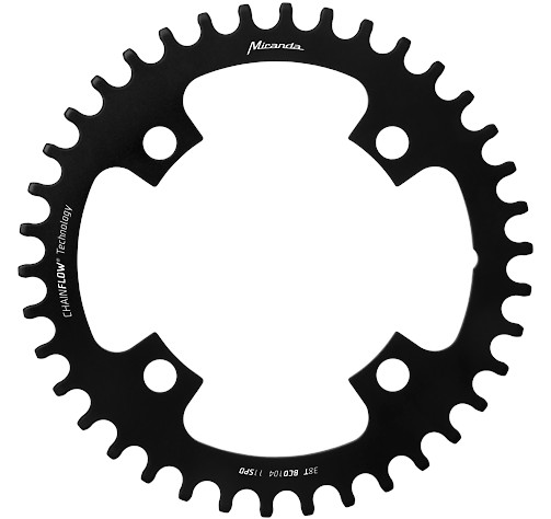 ChainFlow 3D chainrings