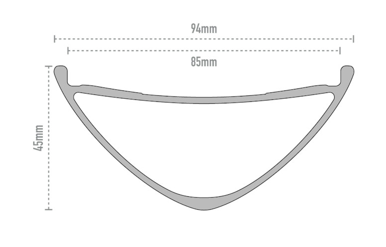 ENVE Composites M685 Rim Profile