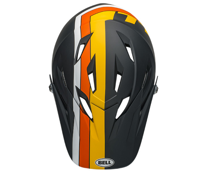 fc3eccee431 ... 2019 Bell Sanction (Agility Matte Black Yellow Orange) ...