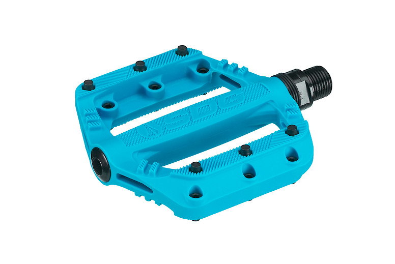SDG Slater 90 Pedal Front Cyan